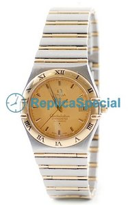 Omega Constellation 1202.10.00 Mens Automatisk Champagne Dial